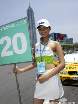 Another cute grid girl