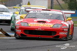 #3 Care Racing Ferrari 550 Maranello: Enzo Calderari, Stefano Livio, Lilian Bryner