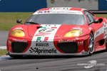 #62 G.P.C. Giesse Squadra Corse Ferrari 360 Modena: Fabrizio de Simone, Christian Pescatori