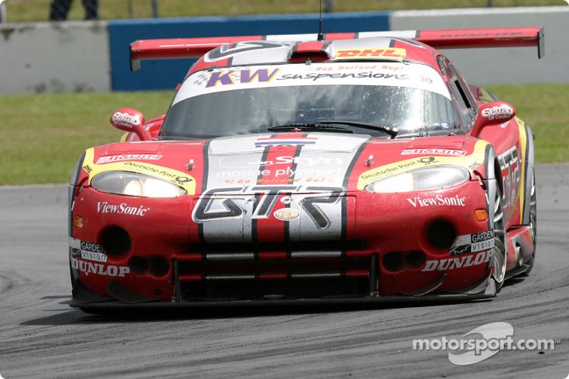 #10 Zwaan's Racing Chrysler Viper GTS: Stéphane Lemeret, Arjan van der Zwaan, Henrik Roos