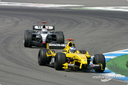 Nick Heidfeld and David Coulthard