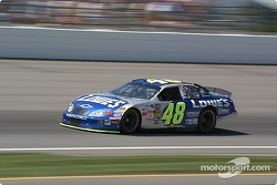 #48 Jimmie Johnson qualifies for the Brickyard 400