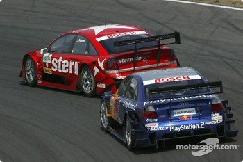 Heinz-Harald Frentzen and Mattias Ekström