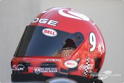 Kasey Kahne's helmet