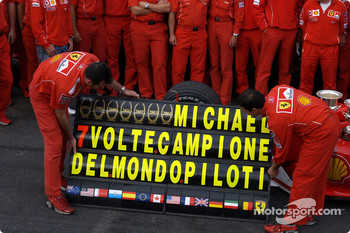 Seven World Championships for Michael Schumacher