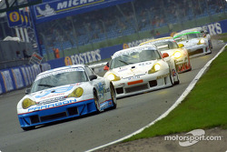Close racing in the LM GT class