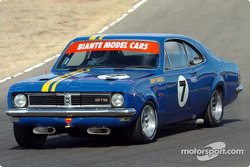 Historic Touring Car Racer Jeremy Mantello in his 1971 Holden Monaro