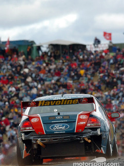 Russell Ingall wasn't the only one sporting damage
