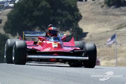 1980 Ferrari 312 T5, Bud Moeller