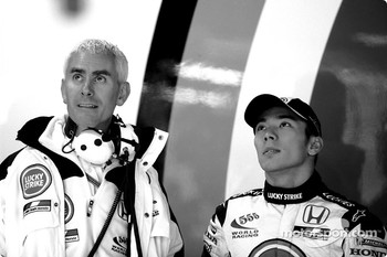 Geoff Willis and Takuma Sato
