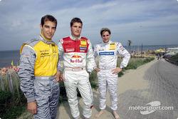 Jeroen Bleekemolen, Martin Tomczyk and Christijan Albers