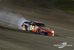 Jeff Gordon loses his engine