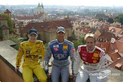 Jarek Janis, Manuel Reuter and Frank Biela