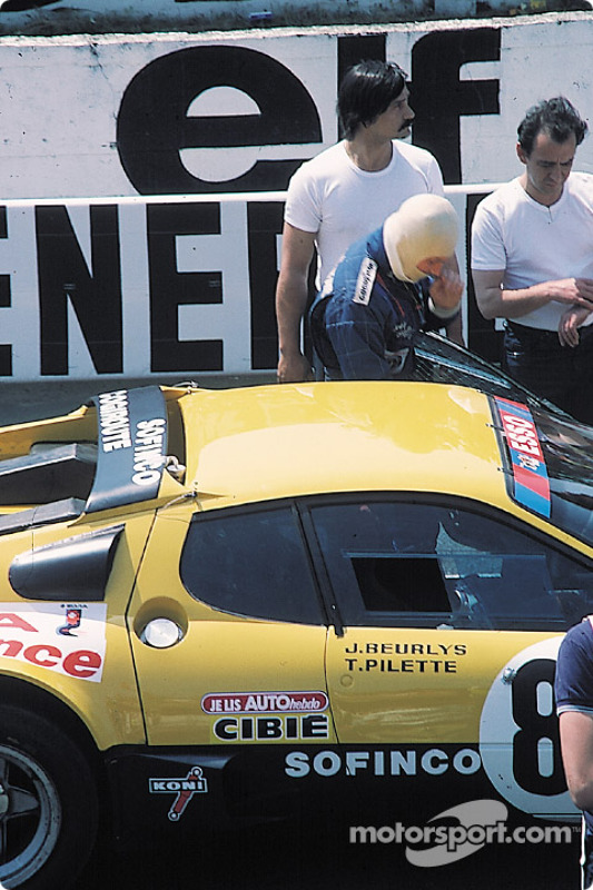 Ecurie Francorchamps Ferrari 512BB: Teddy Pilette, Raymond Touroul, Jean Beurlys