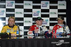 Press conference: Wayne Taylor, Andy Wallace and Milka Duno