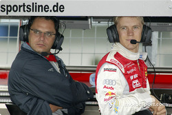 Hans-Jürgen Abt and Mattias Ekström