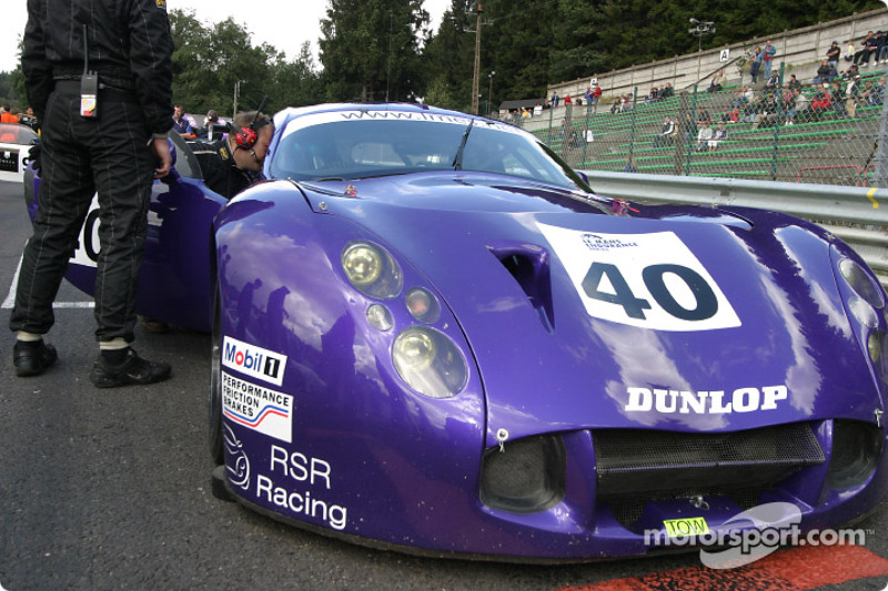 #40 RSR Racing TVR Tuscan T400R: Nigel Greensall, Michel Caine, Jono Coleman