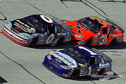 Ward Burton, Kenny Wallace and Robby Gordon