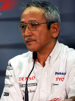 Friday FIA press conference: Toyota team principal Tsutomu Tomita