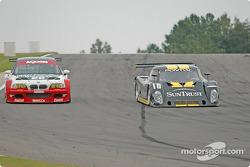 #10 SunTrust Racing Pontiac Riley: Wayne Taylor, Max Angelelli, #22 Prototype Technology Group BMW M3: Joey Hand, Boris Said