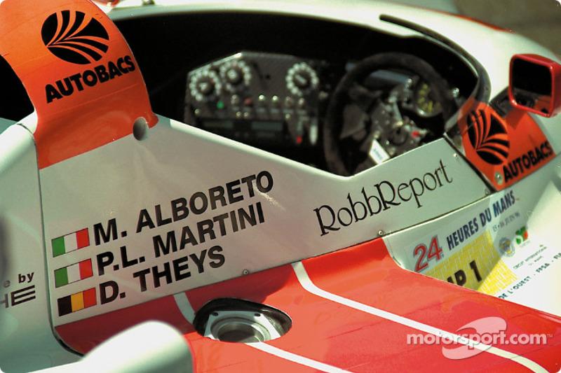 Cockpit of the Joest Porsche