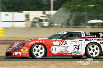 #74 Agusta Racing Team Callaway Corvette: Rocky Agusta, Almo Coppelli, Patrick Camus