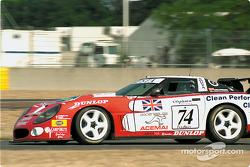 #74 Agusta Racing Team Callaway Corvette: Rocky Agusta, Almo Coppelli, Patrick Camus