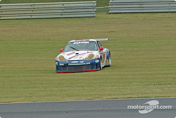#57 Stevenson Motorsports / Auto Assets Porsche GT3 RS: Chip Vance, John Stevenson off track
