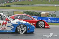 #14 Autometrics Motorsports Porsche GT3 Cup: Cory Friedman, Leh Keen, #27 Doran Lista Racing Lexus Doran: Didier Theys, Andrea Montermini