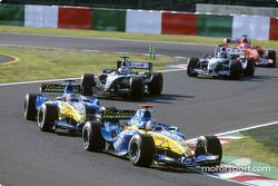 Jacques Villeneuve and Fernando Alonso