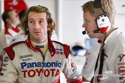Jarno Trulli and race engineer Ossi Oikarinen