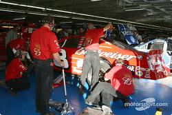 Budweiser Chevrolet crew at work