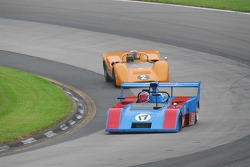 #17- James Freeman- Matich SR-2 leads the #2-  McLaren M6B of Robert Ryan.