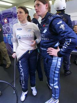 Natacha Gachnang and Cyndie Allemann