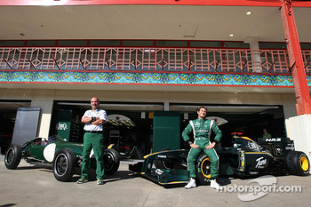 Lotus Type 12 and Lotus F1 Team, Mike Gascoyne, Lotus F1 Team, Chief Technical Officer, Jarno Trulli, Lotus F1 Team