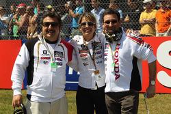 LCR Honda MotoGP team members and guests
