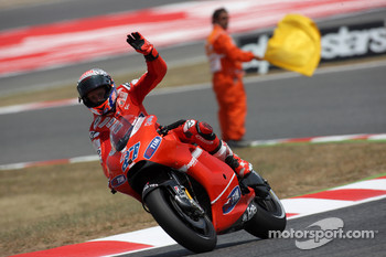 Casey Stoner, Ducati Marlboro Team finishes third