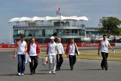 Paul di Resta, Test Driver, Force India F1 Team, Vitantonio Liuzzi, Force India F1 Team