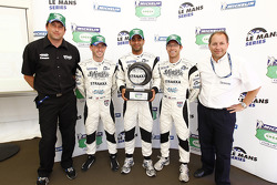 Michelin Green X Challenge press conference: Danny Watts, Nick Leventis and Jonny Kane take the award for Spa