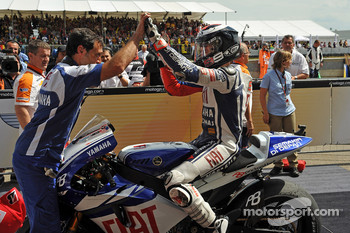 Second place Jorge Lorenzo, Fiat Yamaha Team