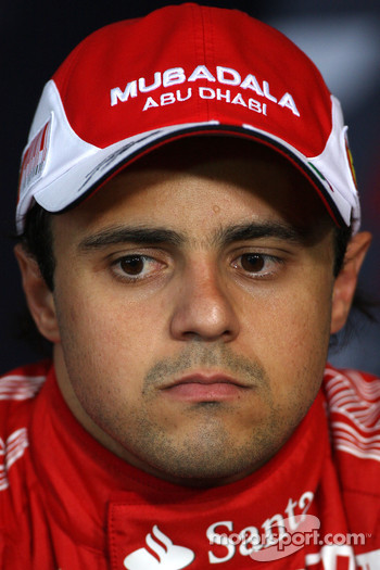 Press conference: third place Felipe Massa, Scuderia Ferrari
