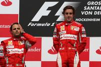 Формула 1 Фотографії - Переможець Фернандо Алонсо, другий призер Феліпе Масса, Scuderia Ferrari