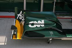 Lotus front wing