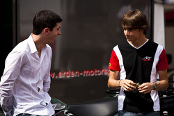 Alexander Rossi and Esteban Gutierrez