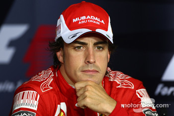 Press conference: third place Fernando Alonso, Scuderia Ferrari