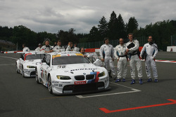 The team of BMW Motorsport mechanics