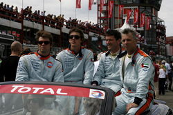 Gulf Team First: Didier André, Grégoire de Moustier, Mike Wainwright, Roald Goethe