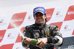 Podium: race winner Ricardo Zonta