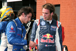 Winner Jean-Eric Vergne, second place Felipe Nasr