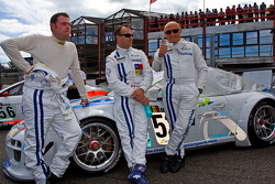 #52 Mühlner Motorsport Porsche 911 GT3 R GT3: Armand Fumal, Gianluca de Lorenzi, Jérome Thiry, Mark J.Thomas
